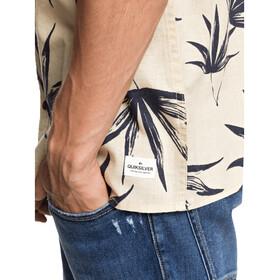 Quiksilver Deli Palm SS Shirt Men parchment deli palm